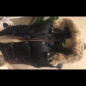 Michael by Michael Kors fur puffer vest, size L